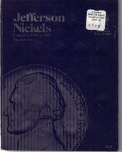 JEFFERSON NICKELS 1938-61 WHITMAN Coin Folder 9009 #1, Used - $2.00