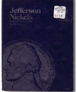JEFFERSON NICKELS 1938-61 WHITMAN Coin Folder 9009 #1, Used - ₨127.85 INR