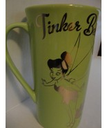 Tinkerbell Mug from Disney - Green and Silver - New - $25.00
