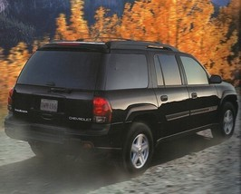 2002 Chevrolet TRAILBLAZER EXT brochure catalog US 02 Chevy - $6.00
