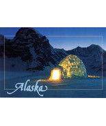 ALASKAN IGLOO Postcard, New - $2.95
