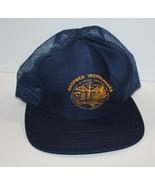Vintage Shopmen Ironworkers Trucker Hat Mesh Snapback USA Made - $22.49