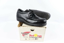 Vtg New Red Wing Shoes Mens 8.5 D 6604 Moc Steel Toe Leather Work Shoes ... - $188.05