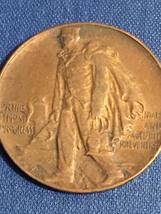 Edward H Harriman Memorial Medal Bronze Token - Duluth & Iron Range Railroad Co. image 3
