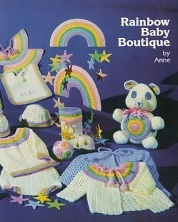 Crochet Pattern RAINBOW BABY BOUTIQUE Loaded w/ fun patterns