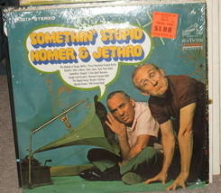 Somethin' Stupid Homer & Jethro LP LSP38778. - $18.99
