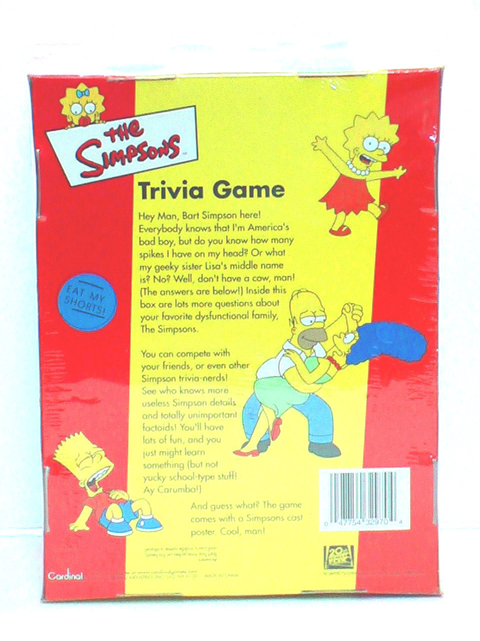 The Simpsons Trivia Game ( In a Box - Never Opened )