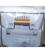 Home Design Waterproof Mattress Pad - King Size - BRAND NEW in Package -... - $69.29