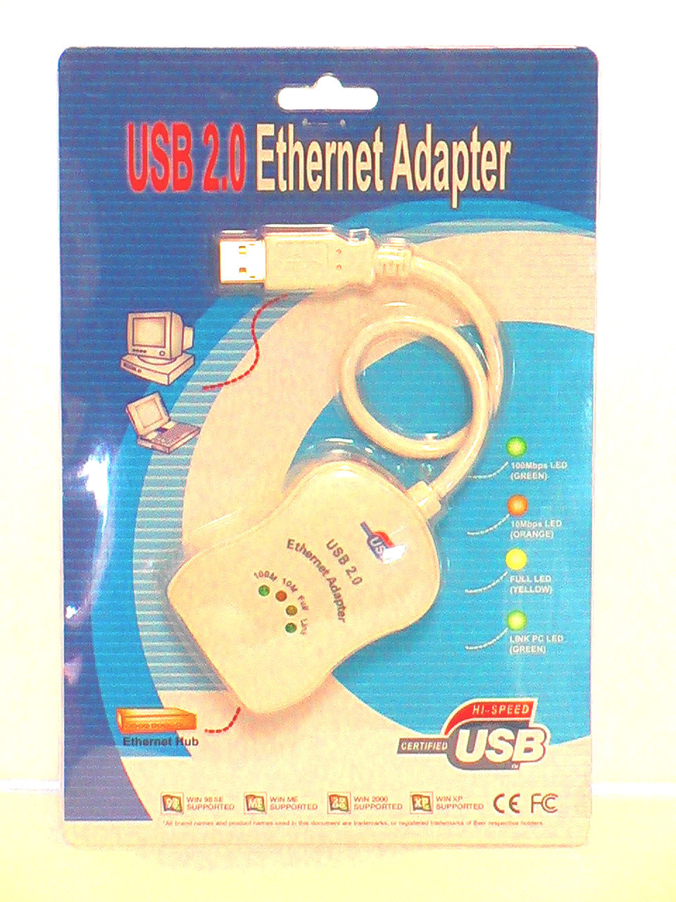 USB 2.0 Ethernet Adapter