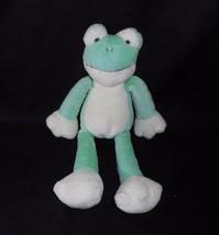 "10"" GUND FLOPADOODLES GREEN BABY FROG GIPPER STUFFED ANIMAL PLUSH TOY 60175 - $18.70"