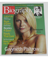 Biography Magazine October 2000 Gwyneth Paltrow Cover - $6.50