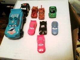 Disney Pixar Cars  Figures Small Lot Of 9 - $10.00