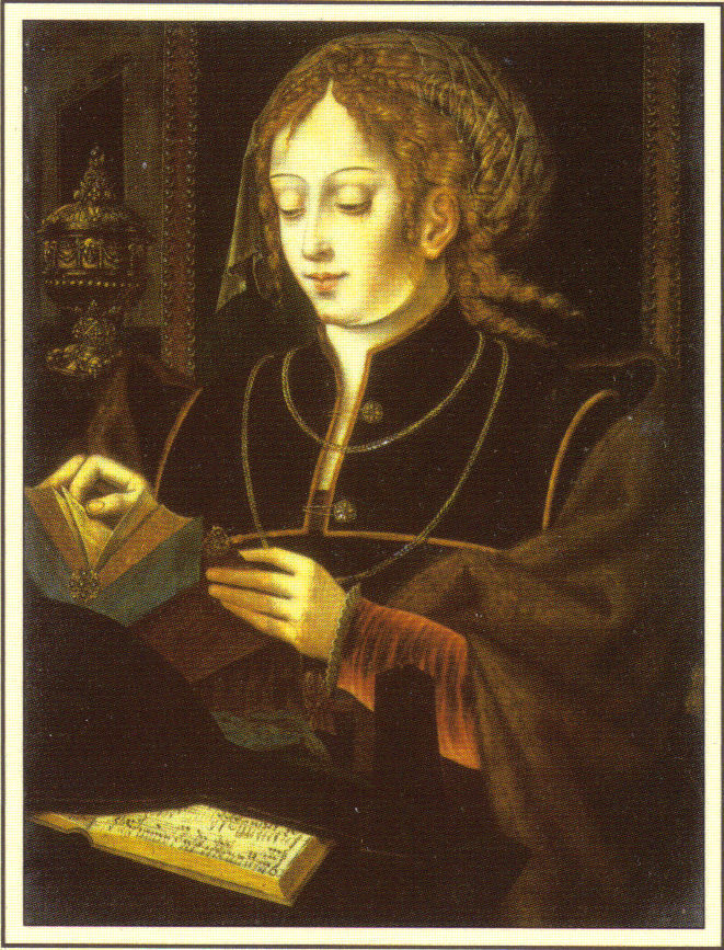 Mary magdalen blank cards