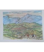 Print Art Reproduction  of xvi century Loxa, Spain - $22.99