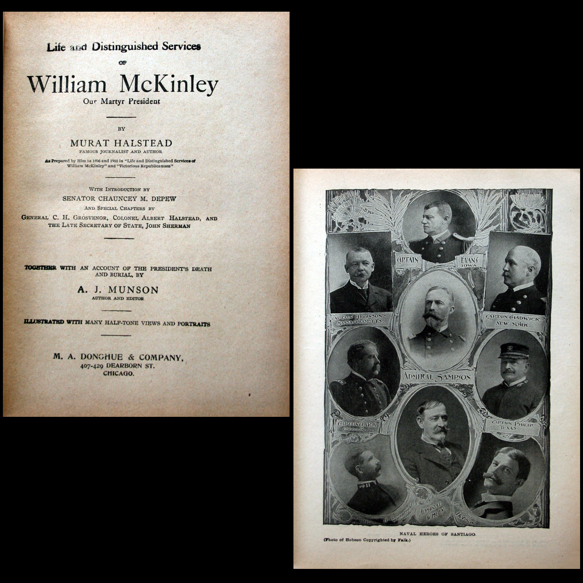 1901 Life and Assassination of President William McKinley IL
