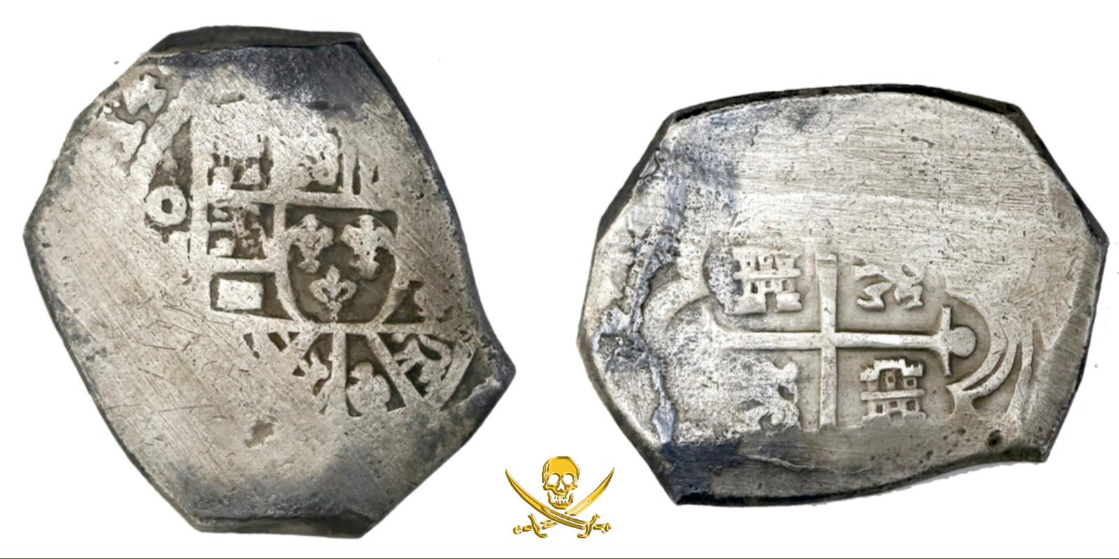 "MEXICO 8 REALES 1714 ""1715 FLEET SHIPWRECK"" PIRATE GOLD COINS TREASURE W/ CERT"