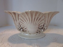 "VTG 1930'S RED WING POTTERY OVAL SHELL CENTERPIECE PLANTER BOWL 12""W #414 - $34.60"
