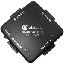 CE labs(R) HS103 3-In, 1-Out Auto HDMI(R) Switcher - $52.20