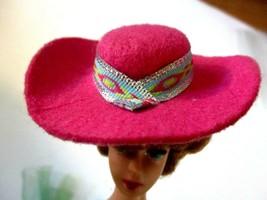 Cowboy Vintage1989 Cowboy Fun Fashion Pink Designed Western Hat  - $1.97