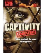 DVD Captivity Unrated Widescreen Edition Elisha Cuthbert - 2007 - $9.95