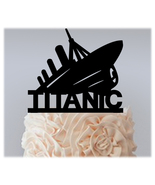 Wedding,Birthday Cake topper,Cupcake topper,silhouette TITANIC Package :... - $20.00