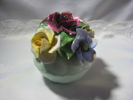 Royal Bone China Floral basket - $15.00