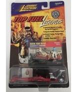 1973 Rain for Rent Warren & Coburn Top Fuel Legends Real Wheels Johnny L... - $9.49