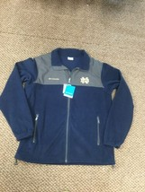 NWT Notre Dame Fighting Irish Columbia Full Zip Jacket XL New With Tags!!! - $74.24