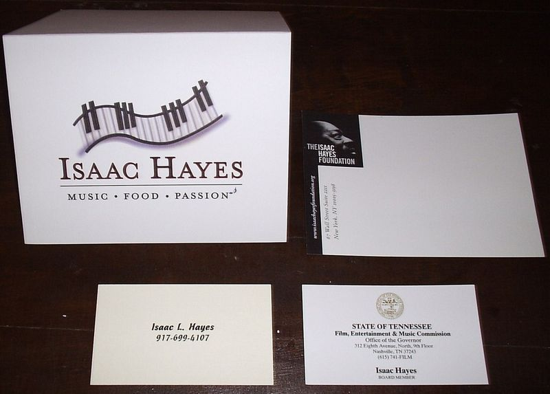 THE BLUES BALL MAGAZINE HAYES PORTER Isaac Hayes Estate