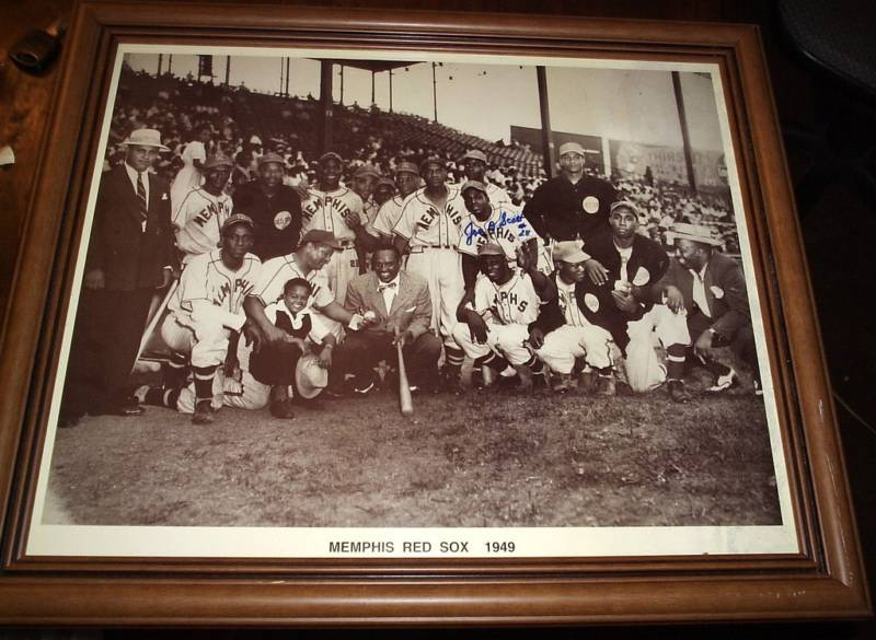 MEMPHIS RED SOX 1949 TEAM  PHOTO  FRAMED