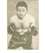 MIKE BELLOISE Featherweight Boxing Exhibit Card - $12.00