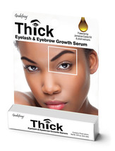 Godefroy Thick Eyelash & Eyebrow Growth Serum with Jamaican Castor Oil 3... - $7.87