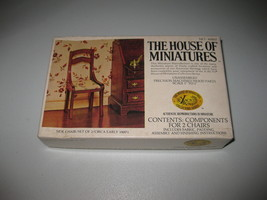 House of Miniatures #40007 Side Chair Set of 2  X-ACTO - Open Box - $19.79