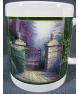 The Open Gate Coffee Mug Thomas Kinkade 10oz Painter of Light - $14.97