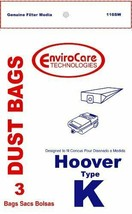Hoover Type K, Vacuum Cleaner Bags, 3 Pack - $5.25