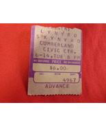 Lynyrd Skynyrd Concert Ticket Stub. June 14th. 1977. Portland, ME - $14.99