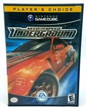 Need for Speed: Underground (Nintendo GameCube, 2003) Complete & Tested - $13.95