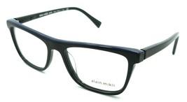 Alain Mikli Rx Eyeglasses Frames A03083 001 54-17-145 Marbled Black / Blue Italy - $125.44