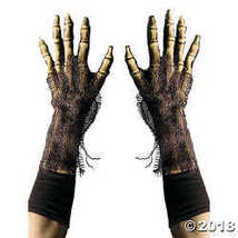 Zagone Studios Survivor Skeleton Reaper Gloves, Rotting Zombie Bone Hands  - $48.90 CAD