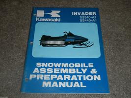 1978 78 Kawasaki SS340 Ss 340 440 Invader Snowmobile Assembly Preparation Manual - $27.95