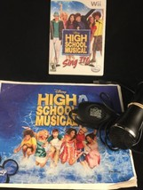 High School Musical: Sing It (Nintendo Wii, 2007) Complete w/ Microphone... - $9.89
