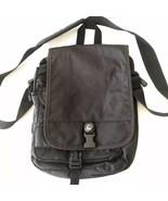 "VTG Vintage 1998 High Sierra Black Hiking Messenger Crossbody Bag 11"" - $79.99"