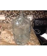 Embossed ABSOPURE WATER 5 Gallon Lt Blue Glass Bottle Jug Carboy - $128.69