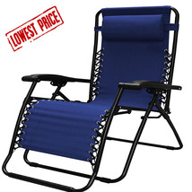 Zero Gravity Chair Infinity, Blue, Extra Wide By Caravan Sports - $62.44