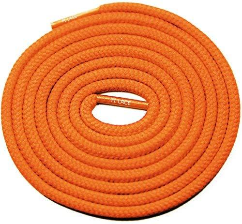 "Primary image for 54"" ORANGE 3/16 Round Thick Shoelace For All Mens Canvas Shoes"
