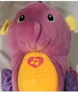 Fisher Price Soothe & Glow Plush Seahorse Pink 2008 Ocean Wonders Gloworm  - $24.49