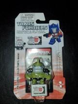 BULKHEAD Transformers Prime Mini Figurine + 3D Puzzle Piece Collector Ca... - $12.82