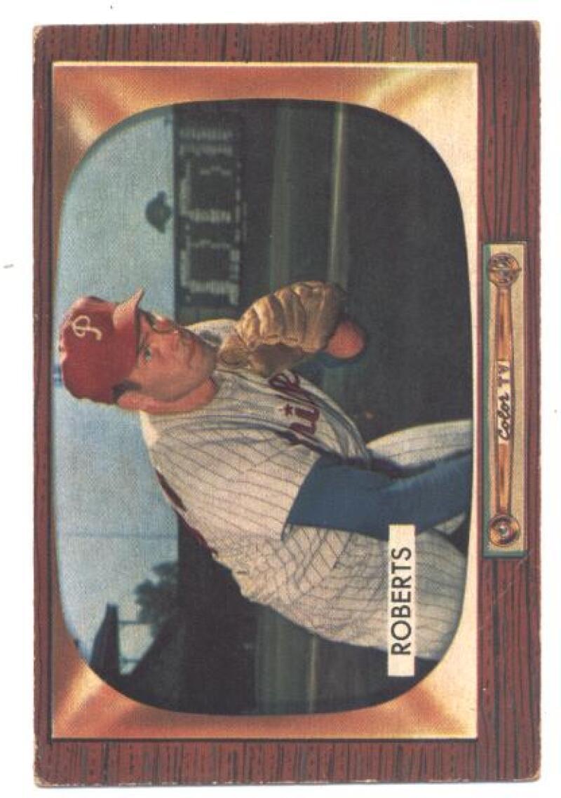 1955 Bowman #171 Robin Roberts Phillies VG/EX Very Good/Excellent  - $20.00