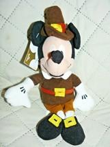 "The Disney Mini Bean Bag Pilgrim Mickey Bean Bag 8"" - $17.01"