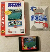 College Football's National Championship II (Sega Genesis, 1995) Game w/... - $5.45